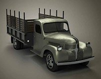 1940s Dodge Truck 3D Model (Work in Progress)