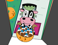 Baby Cow Trick or Treat