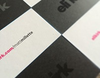 EKR Business Cards