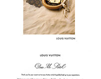 Calligraphy for Louis Vuitton, India at Likhawat Design