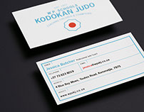 Western Province Kodokan Judo Corporate Stationary