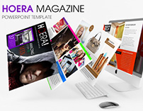 HOERA Magazine - Powerpoint Template
