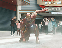 HONGKONG DISNEYLAND - MARVEL SUMMER