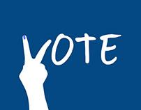 Go Vote - Campaign | Minimal Posters