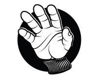 Grabbing hand vector image