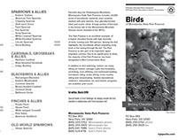 Minnewaska Birding Checklist