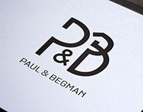 Création graphique logo Bijoutier Paul & Begman