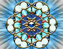 Vesica Piscis Eye Trinity Amulet