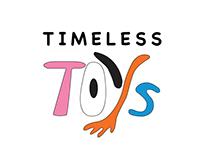 Timeless Toys branding