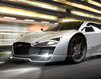 Audi R10 Concept car | gaming Style