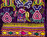 Hand Embroidery of Kutch