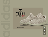 Social Share - Product Page -Adidas Yeezy Boost 350