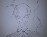 The Silence, Doctor Who - Sketch
