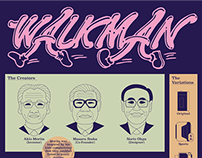 'Walkman' Infographic