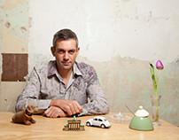 My Photos for Berlino Magazine:Wladimir Kaminer