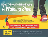 What to Look for When Buying a Walking Shoe