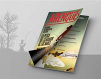 Revista ARENQUE, Conceptualización y Diagramación