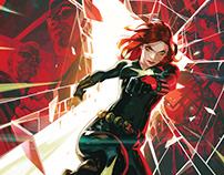 Black Widow: Widow's Sting #1 COVER