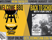 New Faculty BBQ Flyer