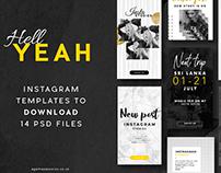 Yeah-Social pack / Instagram Stories