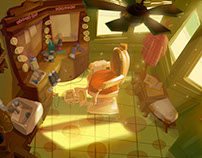 Some environment design when I was a student