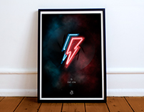 David Bowie Tribute poster.