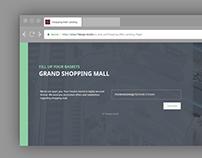 Landing Page Website Template | Web Design