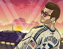 Hollywood BECKHAM | Beckham wins MLS CUP, 2012