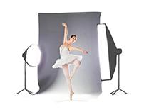Ballet dancer photoshoot