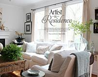 Layout Design: Souvenir Magazine, Summer 2013