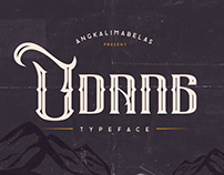 Udang Typeface