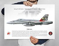 F/A-18 Hornet Squadron Print 2018
