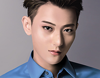 Huang Zitao (Tao) Fan Art Digital Painting