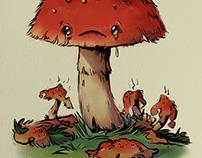 The Saddest Mushroom