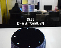 Portable Personal Cleaner Air.Sound.Light