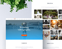 Landing page for the studio – Love is