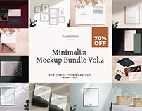 Minimalist No.1 Mockup Bundle Vol.2