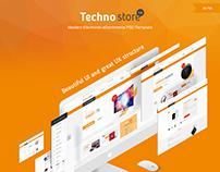 Techno Store - Electronic eCommerce Website