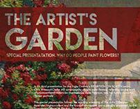 The Artist's Garden, Poster
