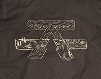 CampLife Illustrated T-shirt