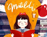 Matilda / cover redesign
