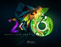 Happy New Year 2k16 ( 2016 )