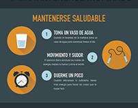Set de infografías de Creatividad