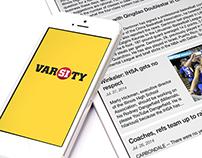 SI Varsity App