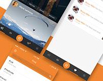 iOS App Orange