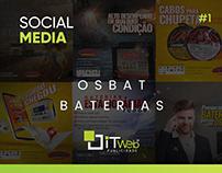 Social Media | Osbat Baterias #1