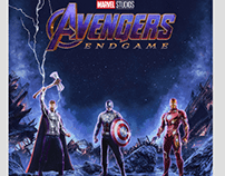The Poster Posse x Avengers Endgame (Official)