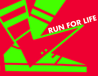 RUN FOR LIFE- POSTER