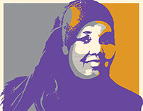 I stand with Munira Poster