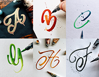 Lettering Collection 2016 - Paint Based